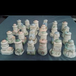 Lenox Lighthouse Spice Jars